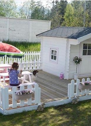 Детские игровые домики,качели,песочницы