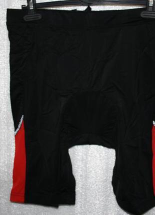 Мужские велосипедные шорты c памперсом crivit, m размер