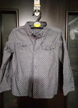 Модная рубашка на мальчика 3-4года