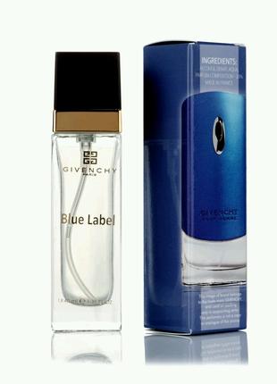 Мужской Мини-парфюм Blue Label ( 40 мл )