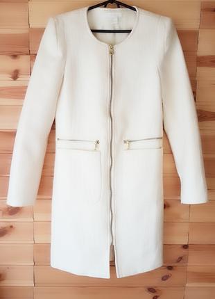 Летнее пальто удлиненный жакет h&m р- 6-8