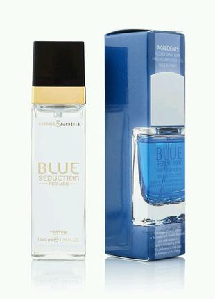 Мужской Мини-парфюм Antonio Banderas Blue Seduction (40 мл)