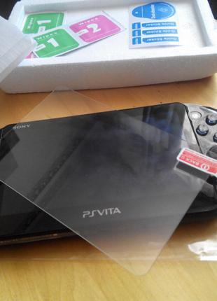 Защитное стекло (не пленка) Sony PS Vita Slim 2000 (мини брак)