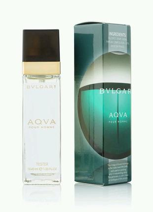 Мужской Мини-парфюм Bvlgari Aqua pour homme (40 мл)