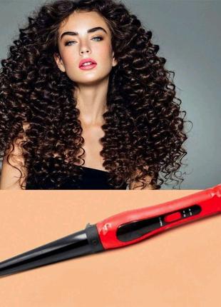 Плойка конусная для волос Domotec MS-4907