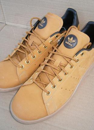 Кеды adidas stan smith  eg3075 оригінал натуральний нубук
