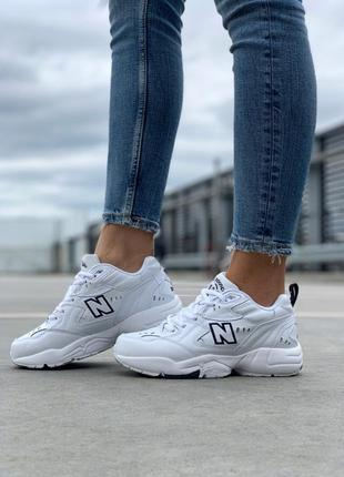 Хитовые кроссовки 💪new balance 608 v1 white 💪