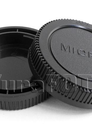 Крышка задняя для объектива Olympus Panasonic m4/3 micro 4/3
