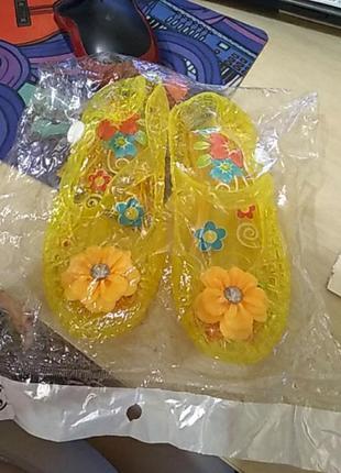 Силиконовые детские туфли 25 размер