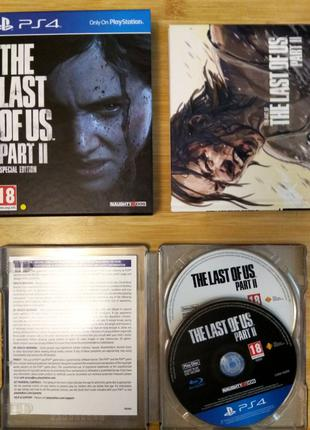 Диск The last of us Part 2 Special Edition PS4 Одни из нас