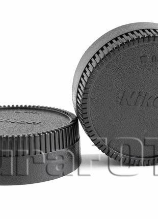 Крышка заглушка задняя для объективов с байонетом NIKON F Ai