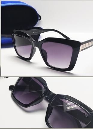 Женские очки chanel черные