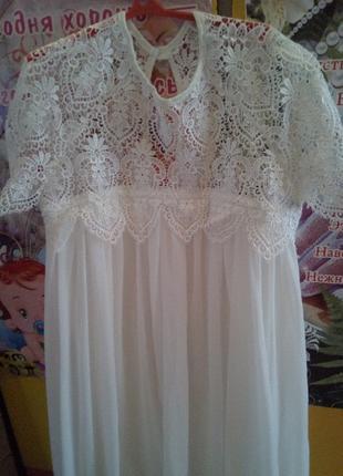 платье с  кружева
