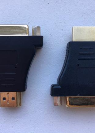 Переходник адаптер HDMI to DVI-D