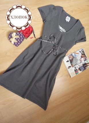 Милое платье миди  / 70% хлопок