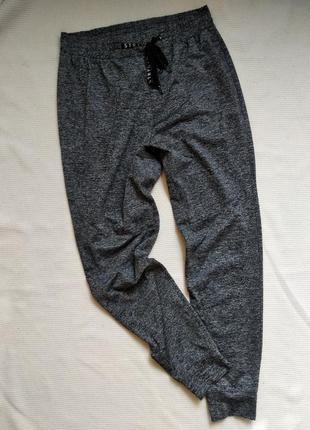Спортивные штаны брюки джогеры высокая посадка