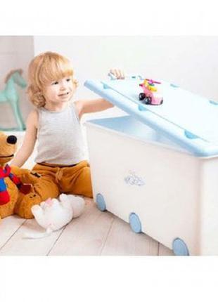 Ящик для игрушек Tega Chomik Rabbits KR-010