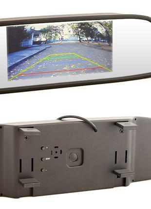 """Зеркало монитор экран 4.3"""", автомобильное, камеры заднего вида"""