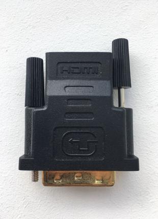 Переходник адаптер DVI-D to HDMI