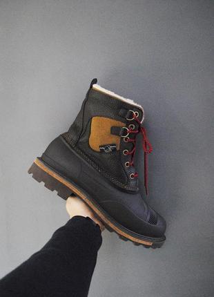 Очень теплые зимние ботинки woolrich fully wooly winter boot