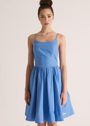 Платье сарафан джинсовый superdry
