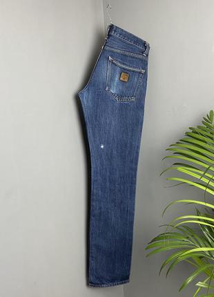 Крутые джинсы carhartt selvage jeans