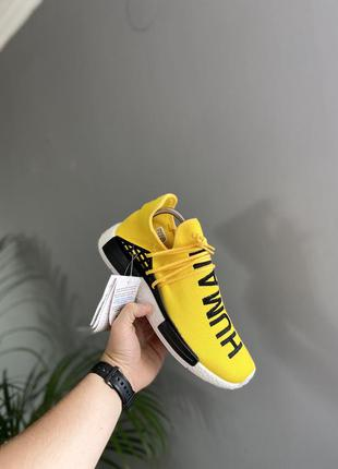 Крутые кроссовки adidas nmd human race by pharrell williams