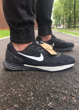 Мужские Кроссовки летние для бега Nike Lunarglide 6 lunar