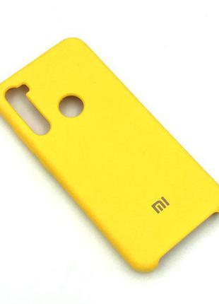 Чехол XIAOMI Redmi NOTE 8T Silicon Case Желтый