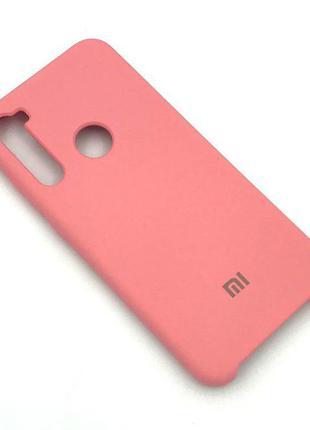 Чехол XIAOMI Redmi NOTE 8T Silicon Case Розовый