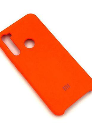 Чехол XIAOMI Redmi NOTE 8T Silicon Case Оранжевый