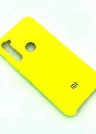 Чехол XIAOMI Redmi NOTE 8T Silicon Case Ярко желтый