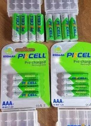 Аккумуляторы ААА /АА PKCELL 600/850/2200mAh Безупречное качество!