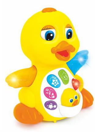 Музыкальная игрушка Желтый утенок