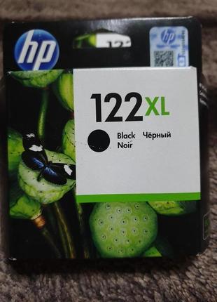 HP картридж черный