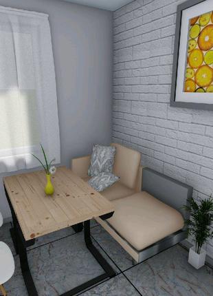 3Д ВІЗУАЛІЗАЦІЯ ДИЗАЙН ІНТЕР'ЄР планування розстановка меблів