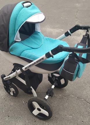 Универсальная коляска 2 в 1 Angelivka Zarina Sport зима лето