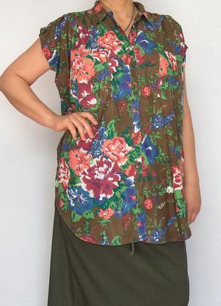Блуза, туника, рубашка, confetti, большой размер