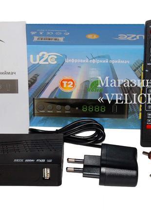 Тюнер Т2 U2C 2 USB, YouTube, Megogo, IPTV