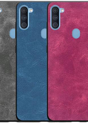 Кожаный чехол Lava для Samsung Galaxy A11