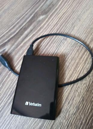Жесткий внешний диск Verbatim