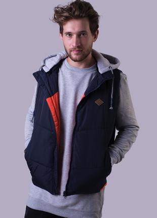 Жилет куртка мужской Avecs AV-70130 двухсторонний Размеры M(48)