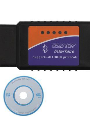 ELM327 Bluetooth OBD/OBD2 беспроводной автомобильный сканер кода