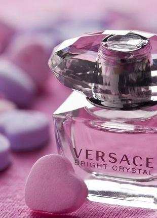 Versace Bright Crystal_Оригинал EDT_5 мл затест туал .вода