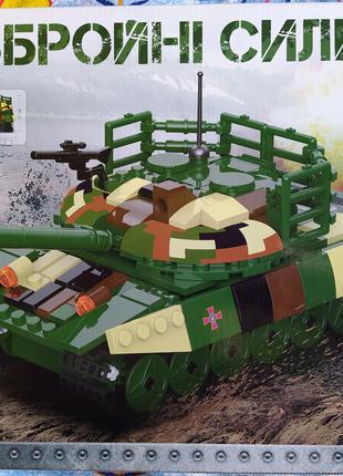 Конструктор КВ 001Основной боевой Танк ЗСУ 422 деталей