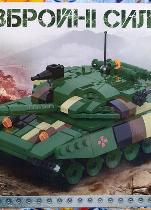 Конструктор КВ 004 Основной боевой Танк ЗСУ 502 деталей