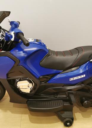 Мотоцикл детский R 118 RT BMW-STYLE 12V Синий (OL00237)