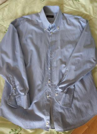 Рубашка Canali, made in Italy, XL