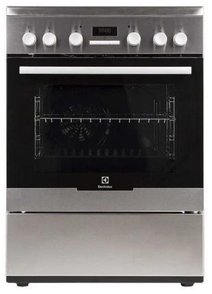 Кухонная плита электрическая Electrolux EKC 96430 AX Б\У Духовка