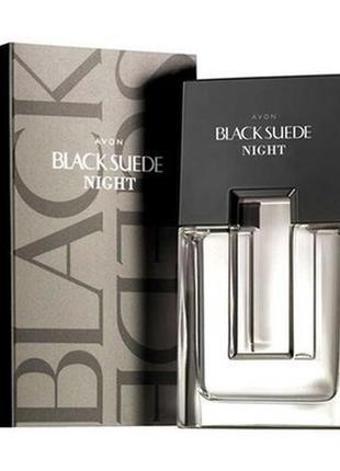 Мужская туалетная вода Black Suede Night, 75 мл